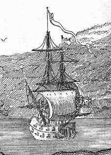 <i>Queen Annes Revenge</i> Pirate Blackbeards ship