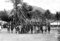 Queensland State Archives 1380 Palm Island natives in war paint c 1935.png