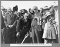Queensland State Archives 3081 The Premier the Hon W Forgan Smith turning the first sod Brisbane 24 May 1935.png