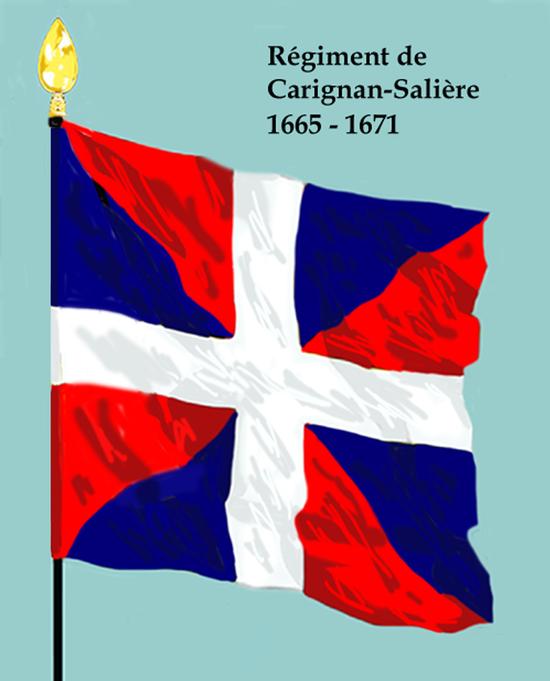 Rég de Carignan-Salières 1665