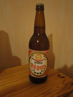 Beer in Africa - A bottle of Régab