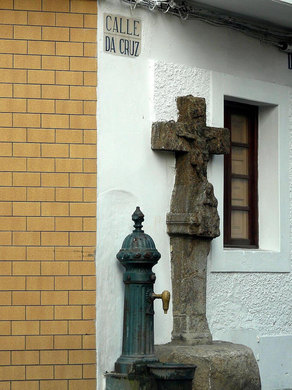 Rúa da Cruz, Cedeira.