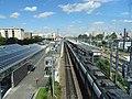 RER B en gare du Bourget vus depuis les quais du T11 express.jpg