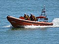 RNLI lifeboat offshore near Broadstairs, Kent, England 01.jpg