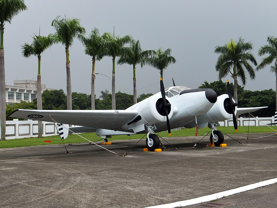 ROCAF Beech AT-11 in Military Airplanes Display Area 20111015