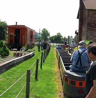 Railroad Museum of Long Island - Image: RR Worlds Fair Train