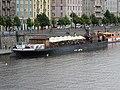 Rašínovo nábřeží, loď Petra, z Palackého mostu.jpg