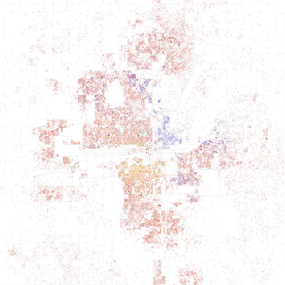 Race and ethnicity 2010 Oklahoma City