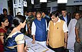 Radha Mohan Singh and the Union Minister for Road Transport & Highways and Shipping, Shri Nitin Gadkari at the inauguration of the Global Bamboo Summit, at Indore, Madhya Pradesh.jpg