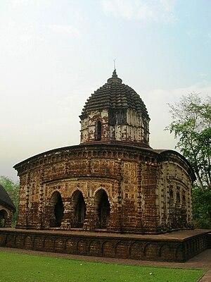 Mallabhum - Image: Radhamadhab Temple (general view) Arnab Dutta 2011