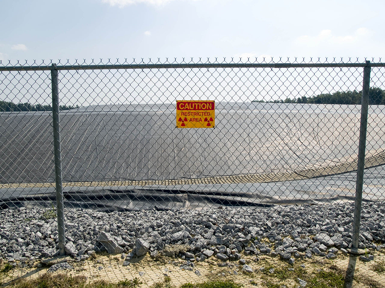 Maxey Flat Low Level Radioactive Waste Site in Kentucky