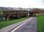 Rail bridge over Exe Valley Way and Exe Cycle Route - geograph.org.uk - 633491.jpg