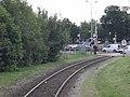 Rail crossing VSM - Laan van de Mensenrechten - Apeldoorn - 2010 - panoramio.jpg