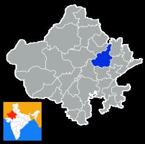Jaipur district - Image: Rajastan Jaipur district