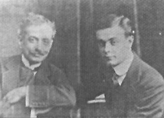 Ramón J. Cárcano - Ramón J. Cárcano (left) and his elder son, Miguel Ángel.