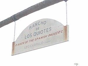 Rancho De Los Kiotes - Image: Rancho De Los Kiotes 2012 09 22 16 42 53