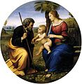 Raphael The Holy Family with a Palm Tree.jpg