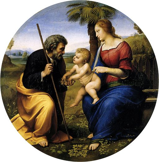 Raphael The Holy Family with a Palm Tree