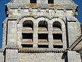 Raray (60), église Saint-Nicolas, clocher, étage de beffroi côté est 2.JPG