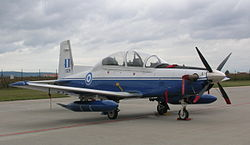 Raytheon T-6A Texan II, Brno CIAF 2007 (Greek Air Force 01).jpg