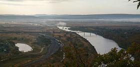 Razdolnaya River from Baranovsky volcano.jpg