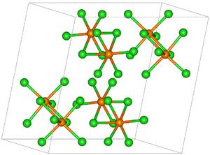 Rhenium pentachloride - Image: Re Cl 5structure
