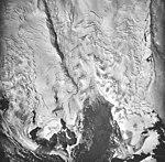Red Glacier, mountain glacier with bergschrund, August 25, 1964 (GLACIERS 6731).jpg