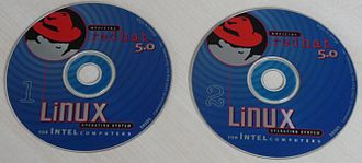 Red Hat Linux - Red Hat 5.0 CDROMs