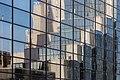 Reflection of Scottish Power HQ Building in Santander Building at Vincent St, Glasgow, Scotland 04.jpg