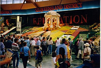 Sydney Royal Easter Show - The District Exhibits are one of the most popular sights at the show. In 2001 the South East Queensland District won First Prize for Display, celebrating the Federation of Australia