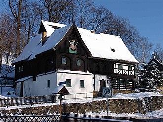 Upper Lusatian house - Reiterhaus in Neusalza-Spremberg