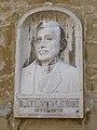 Relief of Sándor Bánvárth by Károly Stöckert, 2017 Mosonmagyaróvár.jpg
