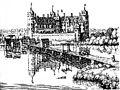 Renaissanceschloss Köpenick (Merian, ca. 1652)-01.jpg