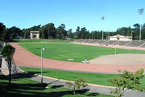 Kezar Stadium - Kezar Stadium in October 2011