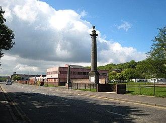 Tobias Smollett - Image: Renton Primary school geograph.org.uk 431905