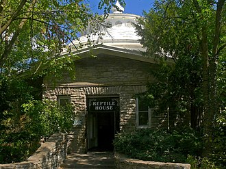 Cincinnati Zoo and Botanical Garden - Reptile House, built in 1875