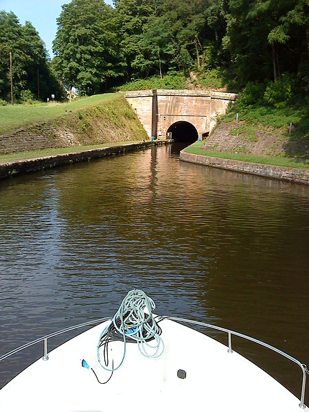 Tunnel of the Marne–Rhine Canal near Arzviller