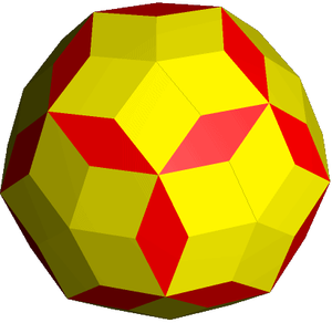 Rhombic enneacontahedron - Image: Rhombic enneacontahedron