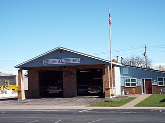 Rib Lake, Wisconsin - Image: Rib Lake Volunteer Fire Department