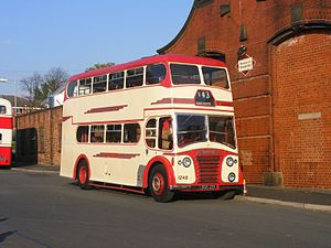 Ribble Motor Services - Preserved East Lancs bodied Leyland Titan PD2