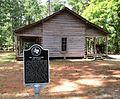 Rice Log Cabin marker and cabin.jpg