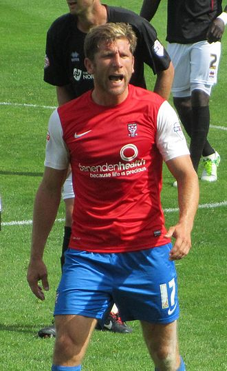 Richard Cresswell - Cresswell playing for York City in 2013