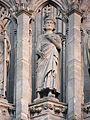 Richard II façade occidentale église Saint-Ouen de Rouen.JPG