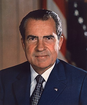 1972 United States presidential election - Image: Richard Nixon presidential portrait
