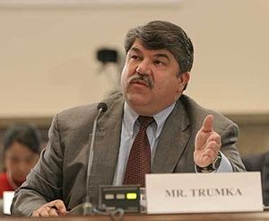 Cropped photo of Richard Trumka, Secretary-Tre...