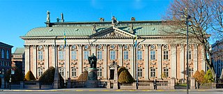 House of Nobility (Sweden) palace built in 1641–1674, which is owned and managed by Swedens knights and nobility.