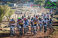 Riders at the start of Day 5 of the 2014 Lesotho Sky.jpg