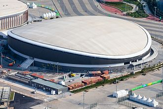 Rio Olympic Velodrome - Aerial view of the Rio Olympic Velodrome