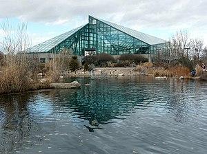 Rio Grande Botanical Garden Pond