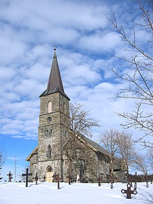 Rissa, Norway - Rissa church